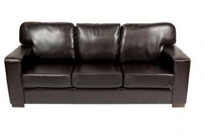 Stella Chocolate Brown Leather Sofa