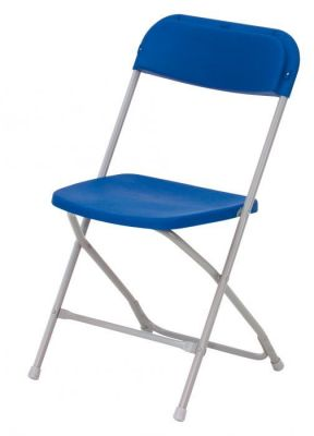 Value Colour Folding Metal Frame Chair