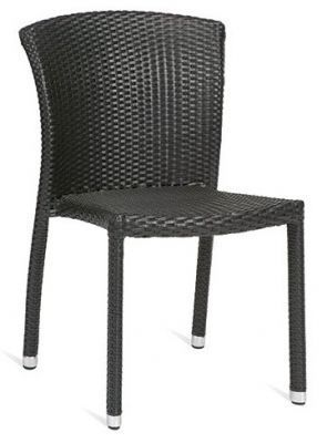 Outdoor-Black-Weave-Sidechair