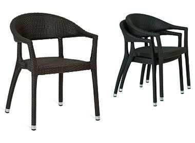 Designer-Java-Weave-Curve-Armchair