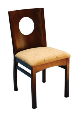 Designer-Wood-Dining-Chair-with-Upholstered-Cushion-Seat