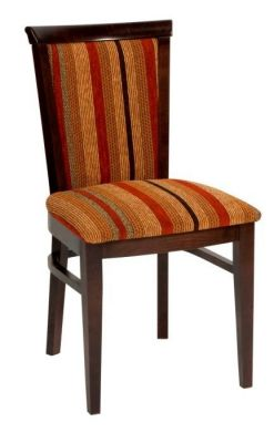 Restaurant-Style-Chair-Solid-Wood-Beech-Frame-Stained-Deep-cushion