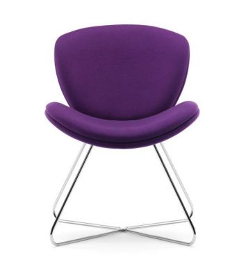 Designer-Breakout-Seating-Fabric-with-Wire-Chrome-Frame