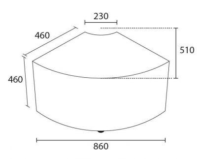 Dimensions-Modular-Quadrant-Upholstered-Seating