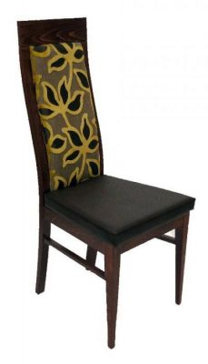 High-Back-Curve-Dining-Chair-with-Cushion-Seat