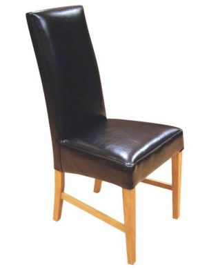 Tetlow Real Leather Dining Chair  sc 1 st  Cafe Reality & Leather Dining Chairs from teh Tetlow Range - Cafe Reality