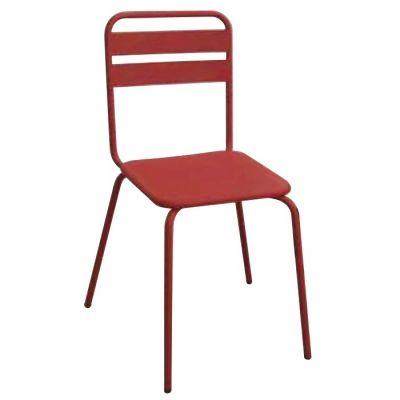 All Metal Retro Side Chair