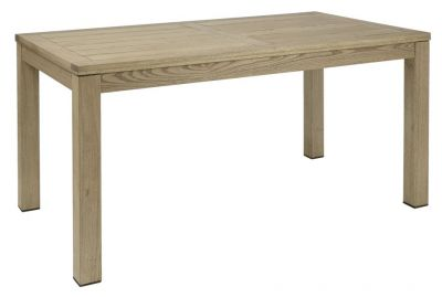 Weathered Rectangular Robina Wood Chunky Outdoor Use Table