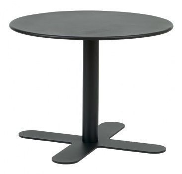 Outdoor Black All Over Steel Coffee Table