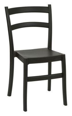 Black Polypropylene High Density Outdoor Seating