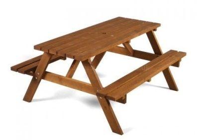 A Frame Outdoor Picnic Table