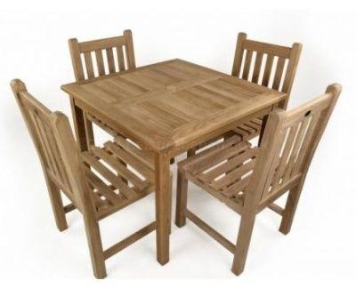 Outdoor Use Teak Dining Set