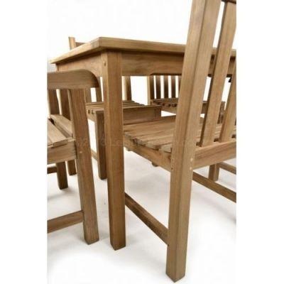 Outdoor Teak Rectangular Dining Set