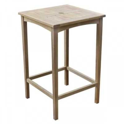 Bar Height Outdoor Use Teak Table