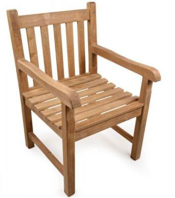 Outdoor Teak Wood Armchair