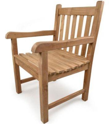 Outdoor Chunky Design Teak Armchair