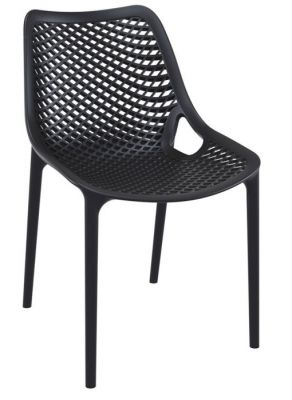 Black Desigpner Commercial Use Poly Chair