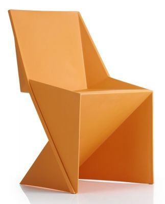 Dragon Poly Chair Orange