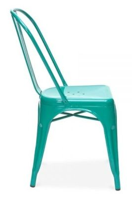 Tollix V3 Chair In Teal Side View