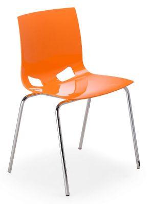 Margo Chair Orange High Gloss