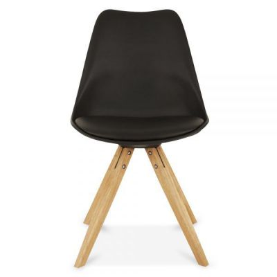 Pyramid Chair Black Poly Seat