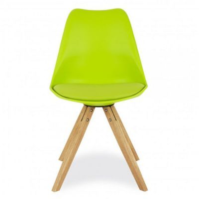 Pyramid Chair Lime Green Seat
