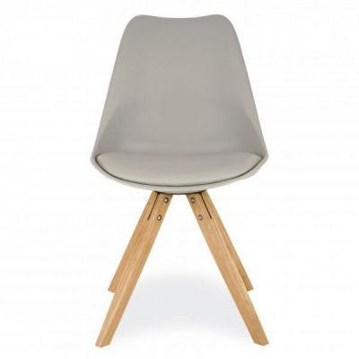 Ppyramid Dining Chair In Grey