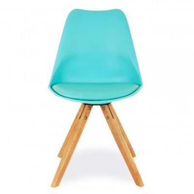 Pyramid Dining Chair In Light Blue