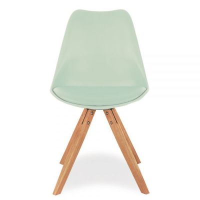 Pyramid Chair In Peppermint Front Shot