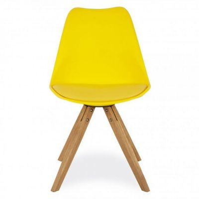 Pyramid Chair Kin Yellow Front Shot
