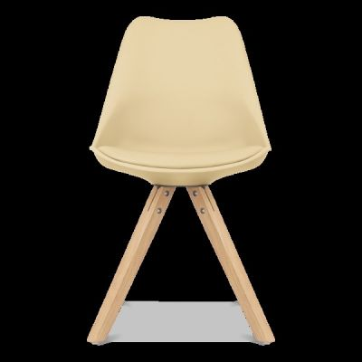 Pyramid Chair In Cream