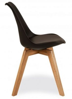 Deko Dining Chair With A Black Set Side View
