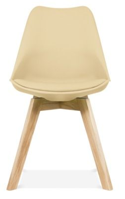 Deko Dining Chair With A Cream Seat