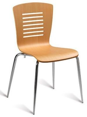 Baroj Cafe Chair Beech Finish