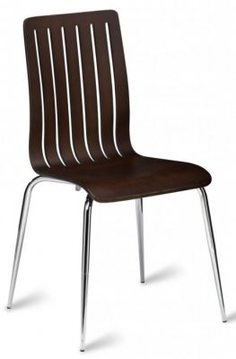 Lucca Cafe Chairs In A Wenge Finish