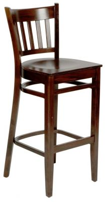 Hants Wooden Bar Stool