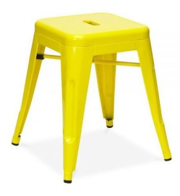 Tollix V3 Metal Stools In Yellow