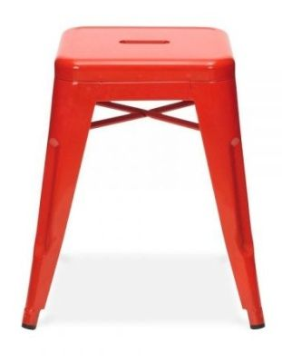 Tollix V3 Metal Stools In Red