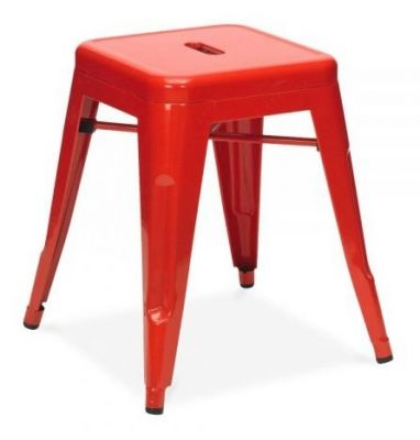 Tollix V3 Metal Stools In Red 2