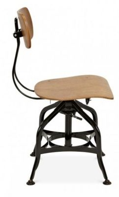 Toledo High Stool Side View