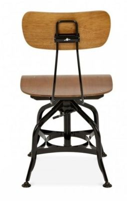 Toledo High Stool Back View