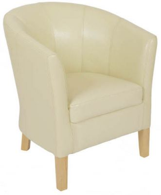 Toledo Leather Tub Chair