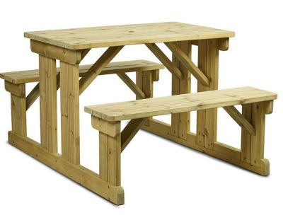 Oxford Easy Access Picnic Table