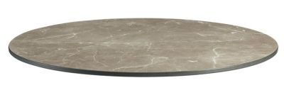 Marble Grey Circular HPL Top