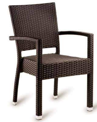 Londi Brown Weave Armchair