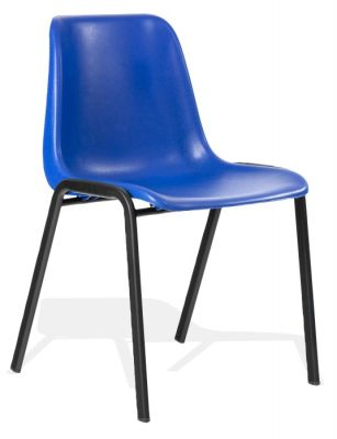 DK Blue Next Day Poly Chair