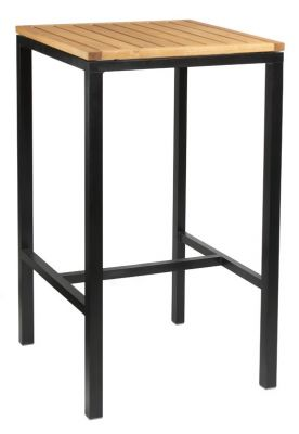 Kendo Square Bar Height Table