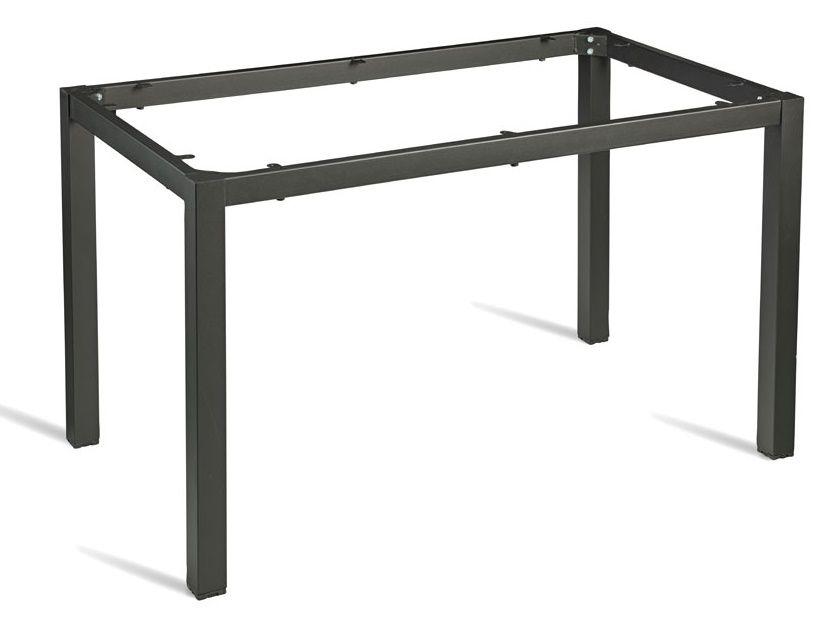 Rectangular Steel Dark Grey Table Frame Cafe Reality