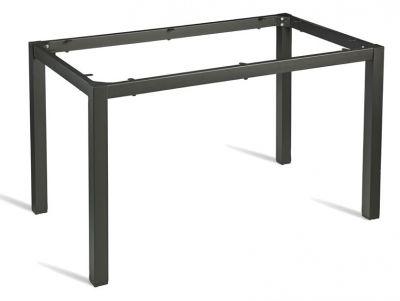 Rectangular Steel Dark Grey Table Frame - Cafe Reality