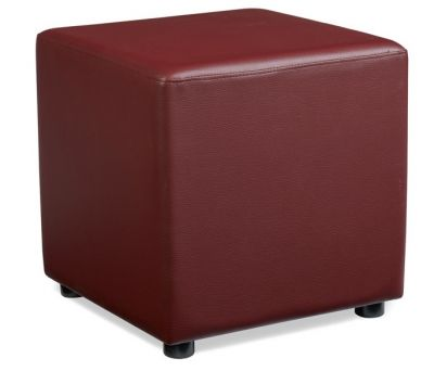 Noston Wine Leather Cube
